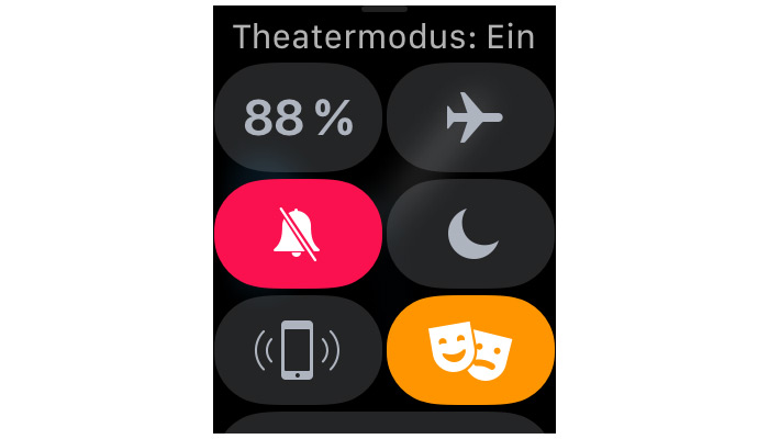 Theatermodus Apple Watch