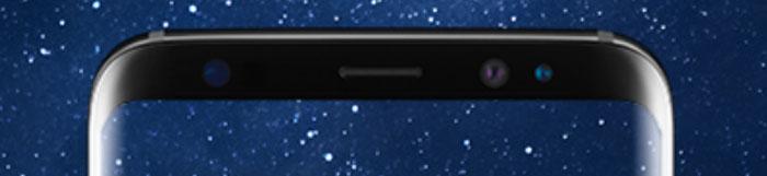 Samsung Galaxy S8 Sensoren