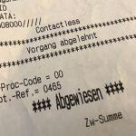 Apple Pay Zahlung Abgwiesen