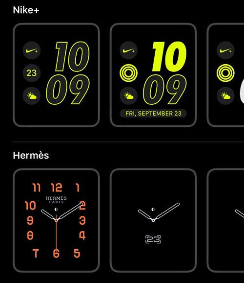 Apple Watch Zifferblatt