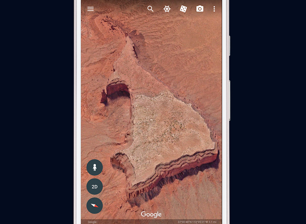Google Earth 1000
