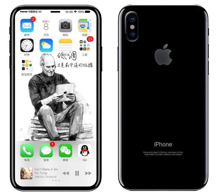 Iphone 8 Edition Rendering