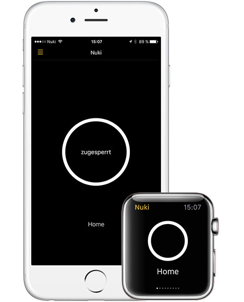 Nuki Tuerschloss App Iphone Apple Watch