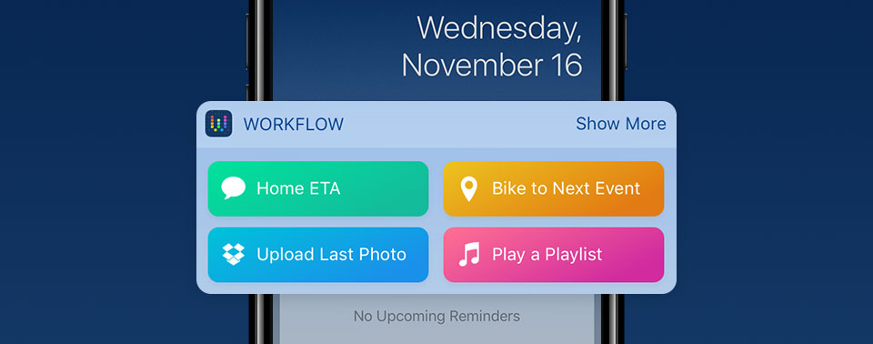 Apple aktualisiert Workflow: Neue Musik-Aktionen
