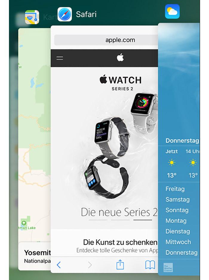 3d Touch App Switcher