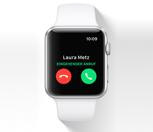 Apple Watch Anruf