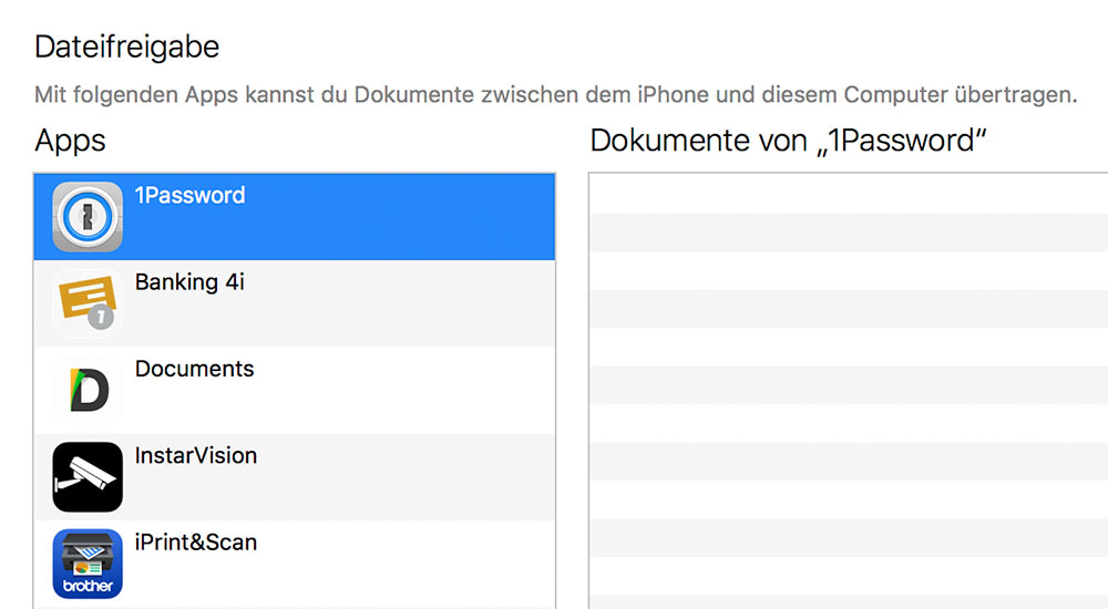 Dateifreigabe