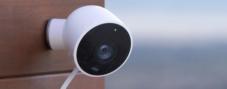 review nest cam berwachungskamera f r innen und au en iphone. Black Bedroom Furniture Sets. Home Design Ideas