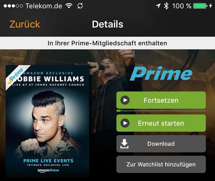 Prime Live App