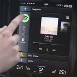 Volvo Android System Spotify