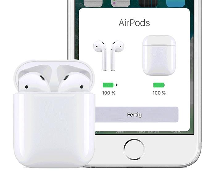 Airpods Mit Iphone Verbunden