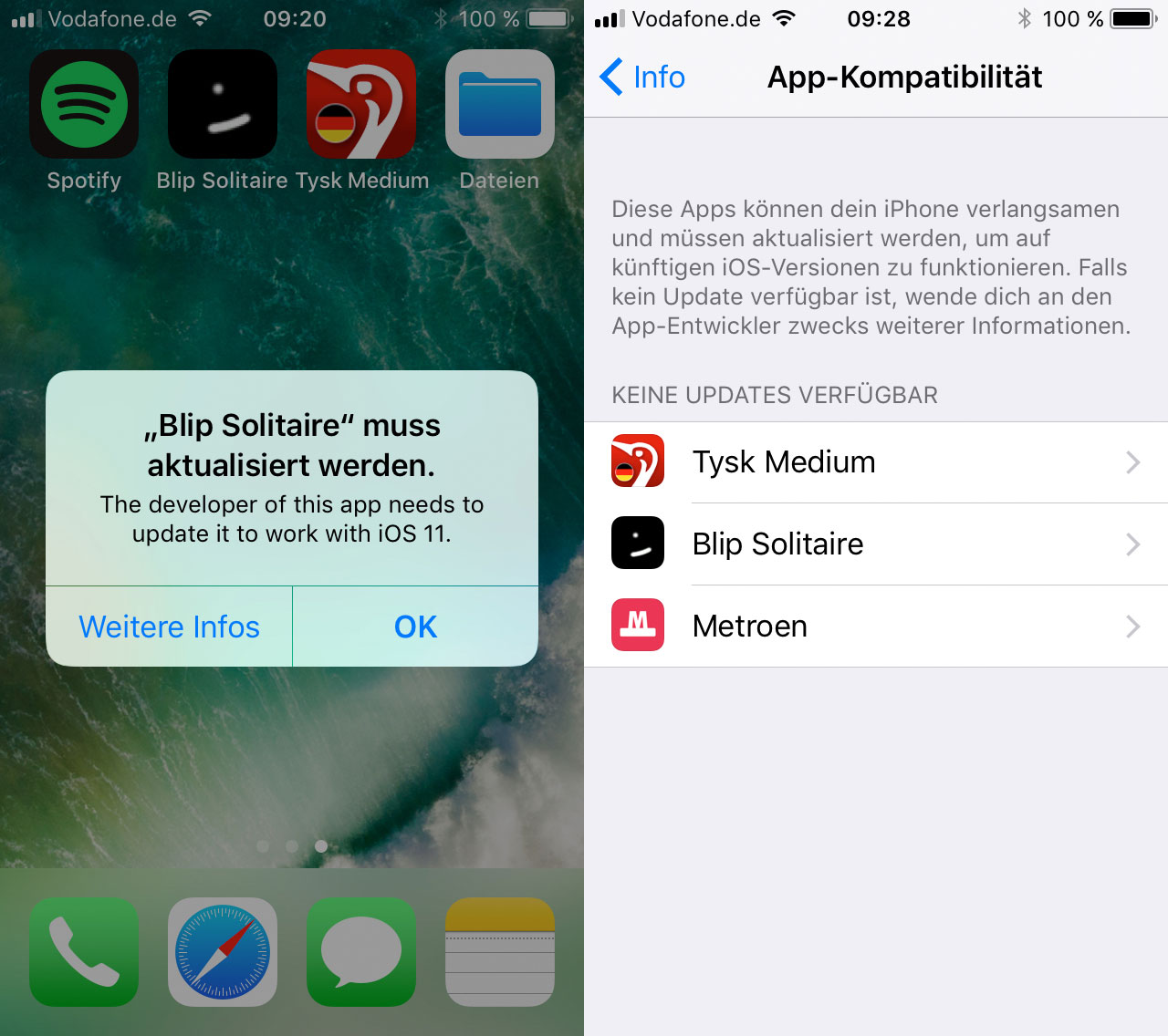 Alte Apps Ios 11