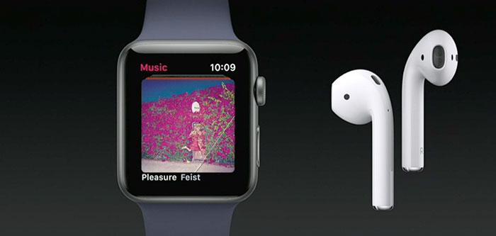 Apple Watch Musik