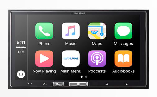 Carplay Alpine