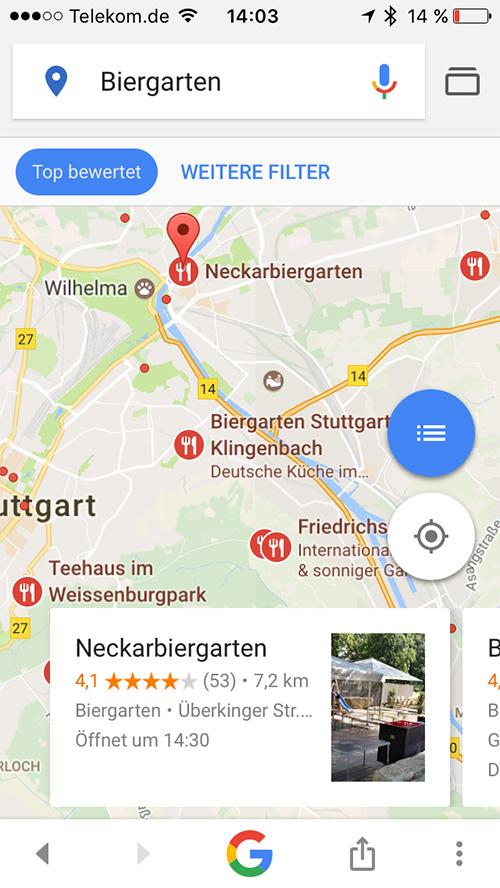 Google Suche App Iphone