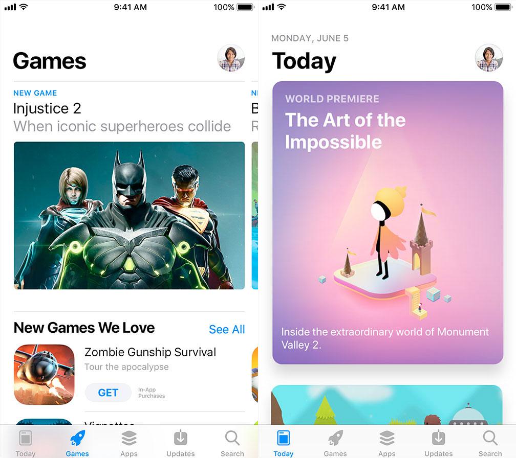 Neuer App Store