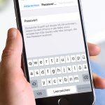 Passwort Eingabe Iphone