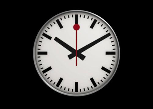 Uhr hintergrund ipad