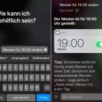 Siri Schreiben Screen
