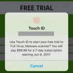 Spam Touch Id