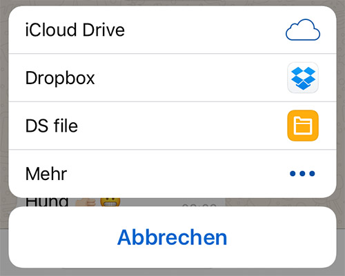 Whatsapp Datei Teilen