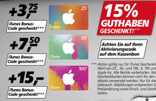 Real Itunes Angebot