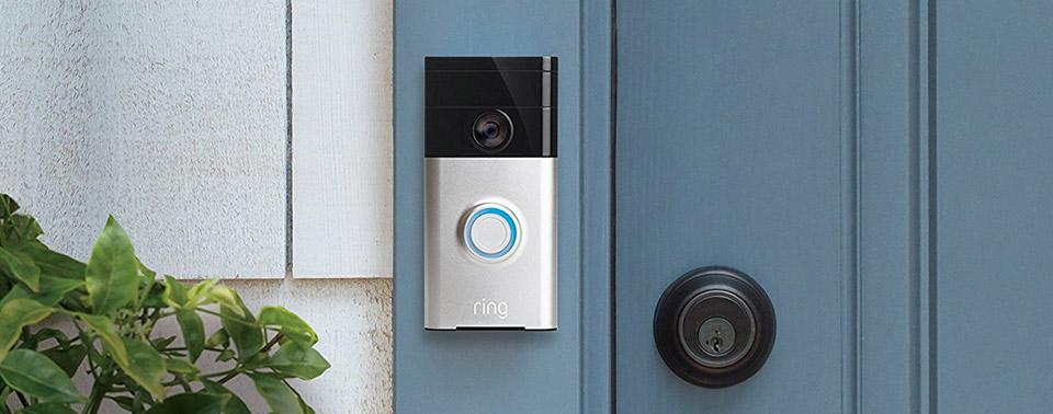 video t rklingel ring doorbell startet offiziell in. Black Bedroom Furniture Sets. Home Design Ideas