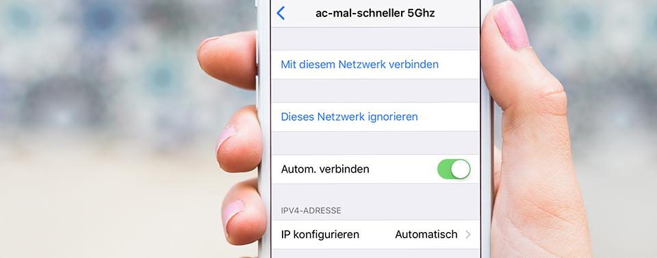 Iphone  Wlan Reichweite