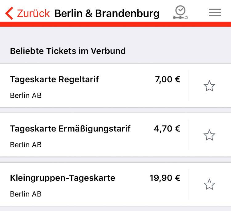 Auswahl Berlin