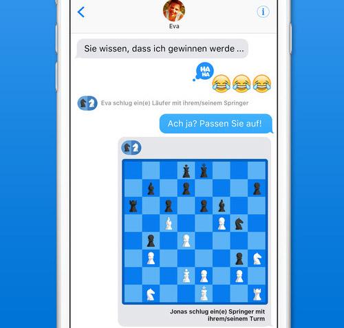 Imessage Schach
