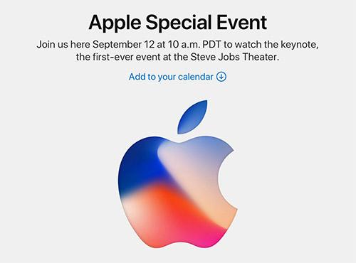 Offiziell: iPhone 8 Event am 12. September im Steve-Jobs-Theater