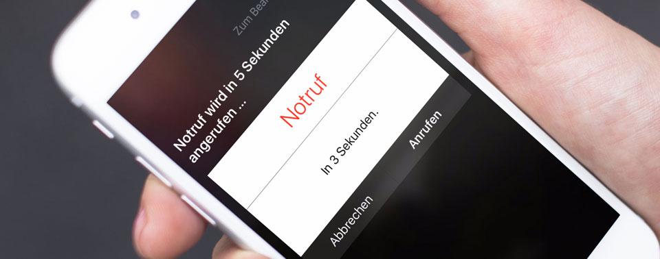 Notruf mit Standortübermittlung: iOS 13.3 schaltet AML frei