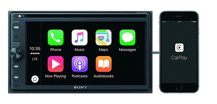 Sony Carplay XAV AX200