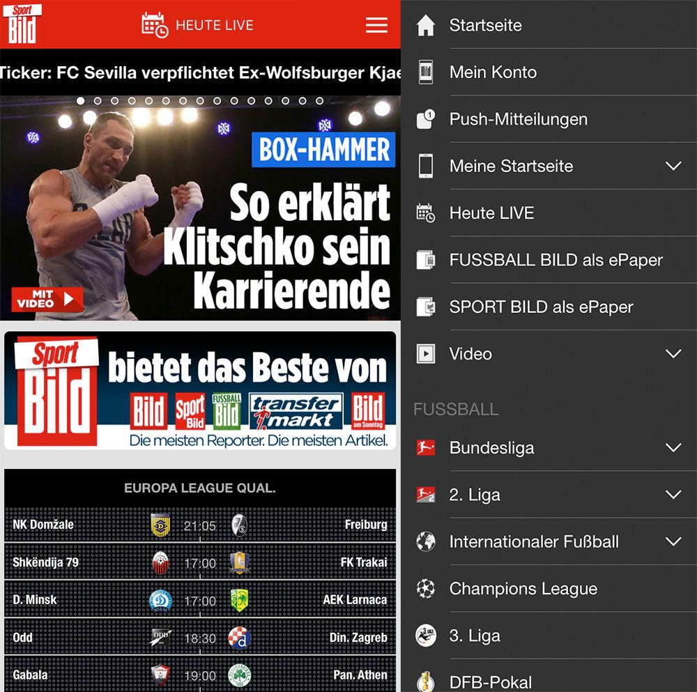 Sportbild App