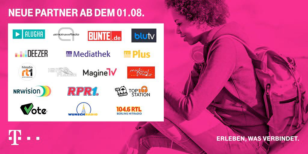 Streamon Neue Partner August