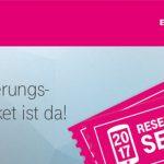 Telekom Reservierungs Ticket 2017
