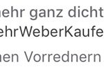 Weber Rezension