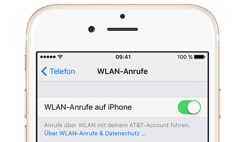 Wlan Calling Iphone