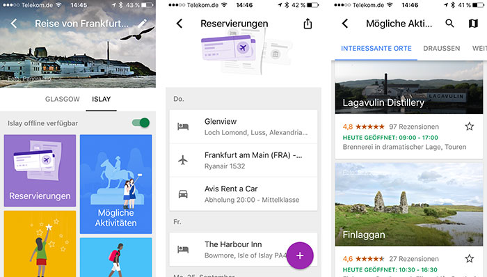 Google Trips App Iphone