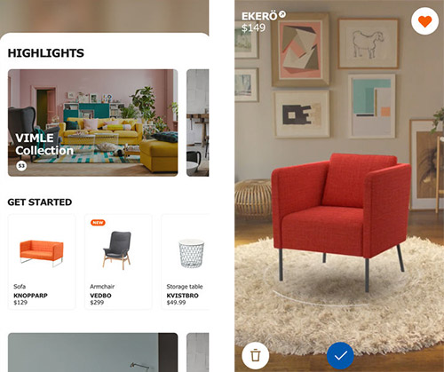 IKEA Place: Möbelkauf per Augmented Reality