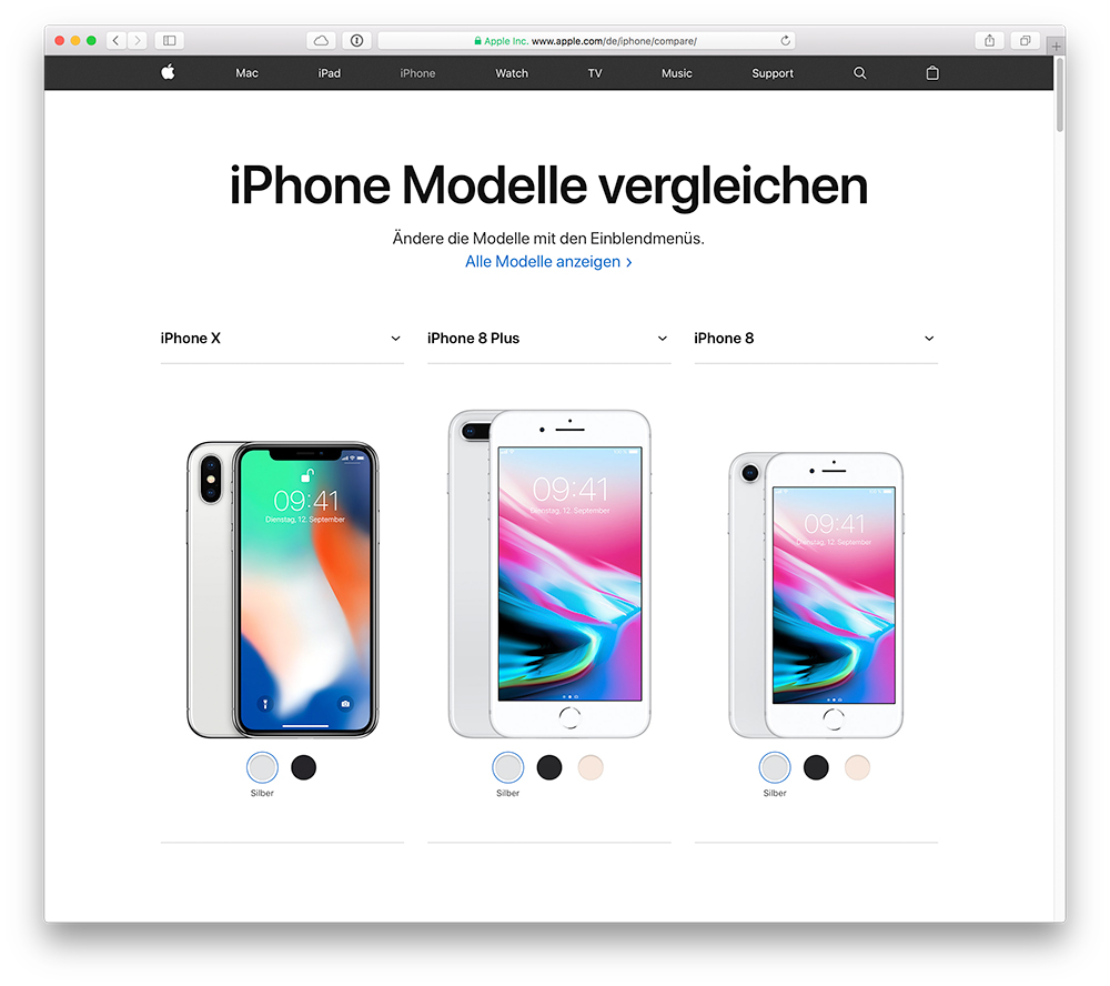 Iphone Modelle
