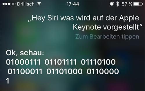 Siri Was Wird Auf Der Apple Keynote Vorgestellt