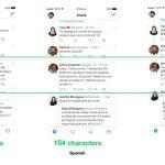 Twitter Gleicher Text Unterschiedliche Sprache