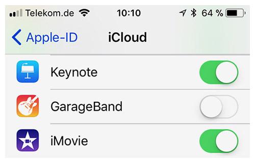 iCloud-Problem: GarageBand lässt sich unter iOS 11 teils nicht