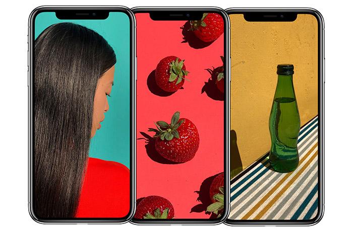 Iphone X 3 Nebeneinander
