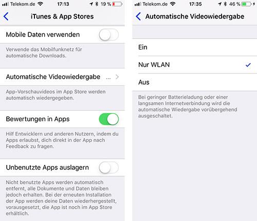Itunes Und App Store Einstellungen