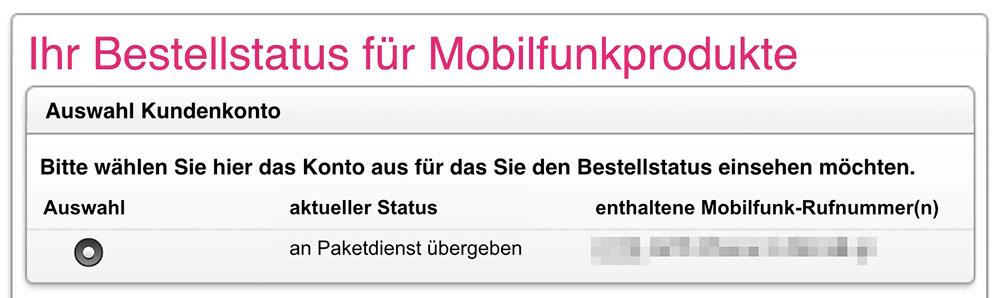 Telekom Paketdienst