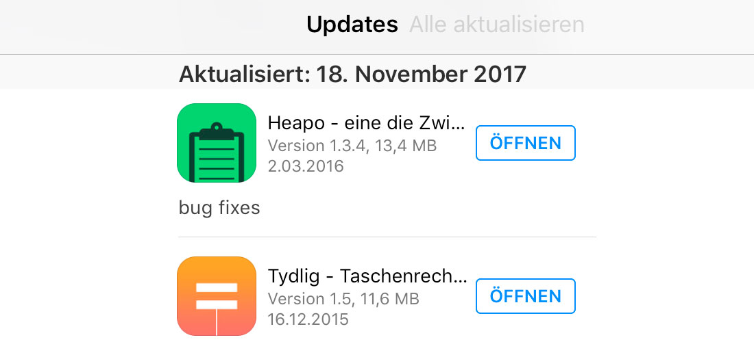 Alt Updates