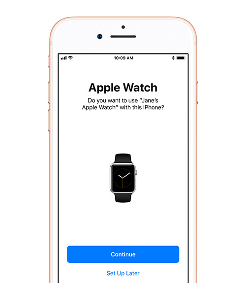Apple Watch Neu Einrichten
