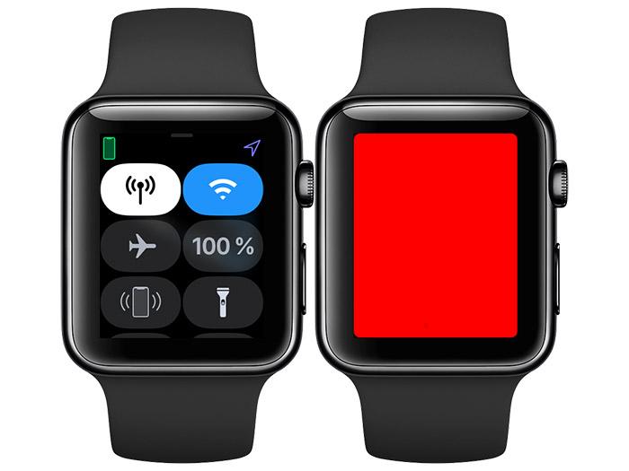 Apple Watch Taschenlampe